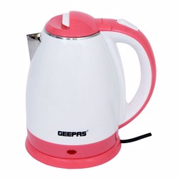 Geepas GK6138 Double Layer Electric Kettle with Auto Cut Off, 1.8L