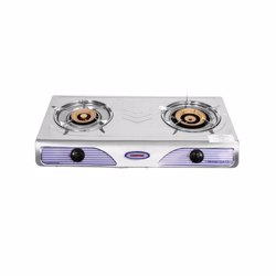 Geepas GK73 Double Gas Burner with Auto Ignition System