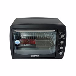 Geepas GO4402N Electric Oven with Convection and Rotisserie, 75L