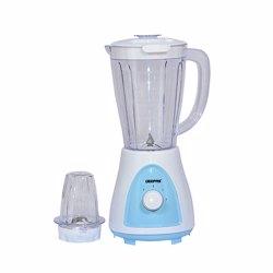 Geepas GSB5485 2-in-1 Plastic Jar Blender, 1.5L