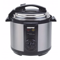 Geepas GPC307 Electric Pressure Cooker, 6L