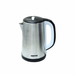 Geepas GK38028 Stainless Steel Electric Kettle, 2.5 L
