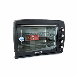 Geepas GO4401N Electric Oven with Convection and Rotisserie, 55L
