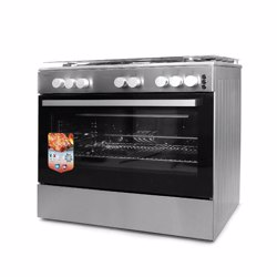 Geepas GCR9067FTST Full Safety Gas Cooking Range, 90 x 60