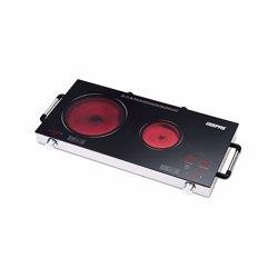 Geepas GIC6131 Double Burner Infrared Cooker