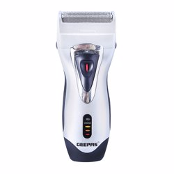 Geepas GSR8695 Rechargeable Shaver with Self-Sharpening Blades