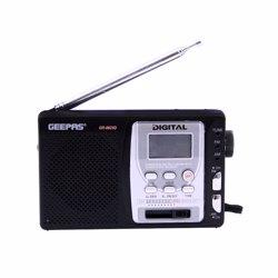 Geepas GR6825 IC Design 10-Band Digital Receiver