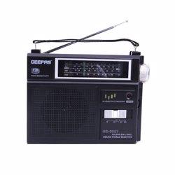 Geepas GR6827 FM/AM Radio, Portable