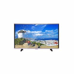 Geepas GLED3918CSEHD HD Curve Smart LED TV, 39""