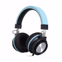 Geepas GHP4710 Stereo Headphone with Microphone, Blue