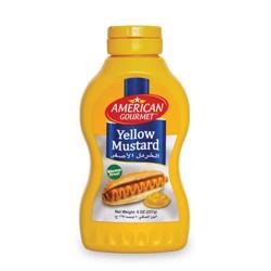 American Gourmet Yellow Mustard 8oz