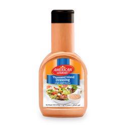 American Gourmet Thousand Island Salad Dressing 8oz