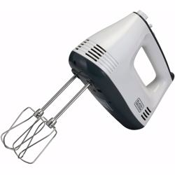 Black+Decker 300W Hand Mixer, White - M350-B5