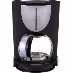 Black+Decker 800W 15 Cup Coffee Maker, Black, DCM80-B5