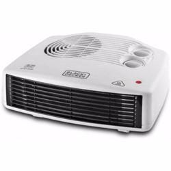 Black+Decker 2400W Horizontal Fan Heater, White, HX230-B5, 1