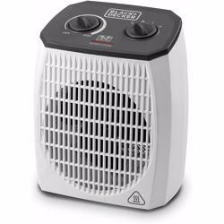 Black+Decker 2000W Vertical Fan Heater, White, 1.44 kg, HX310