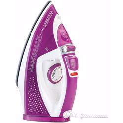 Black+Decker Steam Iron, Magenta, 2400W, X2450-B5