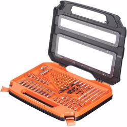 Black+Decker Family Series 50 Pieces Drill Accessory Set, A7168-xj