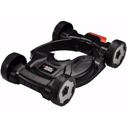 Black+Decker 3-in-1 Lawn Mower Deck Attachment for Strimmer, CM100-XJ