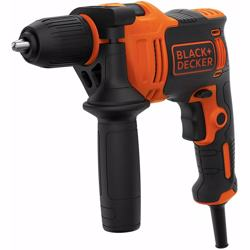 Black+Decker Corded Drill 550W, BEH550-GB