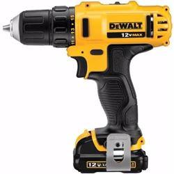 Dewalt Compact Drill Driver, Yellow/Black, 0/91 kg, Dcd710D2-B5