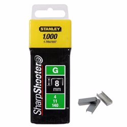Stanley 1-TRA705T 8mm Heavy-Duty Staple (1000 Pieces)