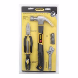 Stanley 70-875 Hand Tools Set 12 Pcs