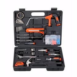 Black+Decker Hand Tool Kit, Orange/Black, BMT108C, 108 Pieces