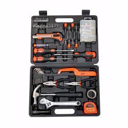 Black+Decker BMT126C Hand Tool Kit, Orange/Black, 126pieces preview