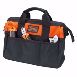 Black+Decker Tool Bag, 12 inch, BDST73820-8