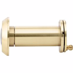 Door Viewer Peep Hole with Cover - Gold preview