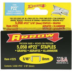 Arrow P22 Staples 5/16 (225)