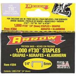 Arrow T30 Staples 1/4 (304)